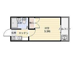 ブルイヤ−ル朝霞23[1階]の間取り