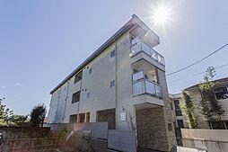 神奈川県鎌倉市由比ガ浜2丁目の賃貸アパートの外観