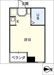 ムラセビル[5階]の間取り