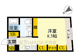 北千束駅 9.6万円