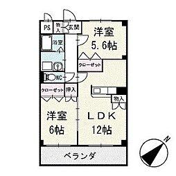 シリウスハイム 1階[103号室]の間取り