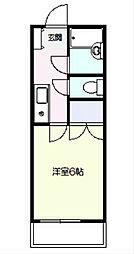 シャルム戸塚[2階]の間取り