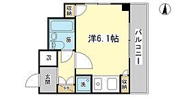 藤和シティコア姫路駅前[8階]の間取り