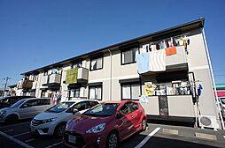 千葉県流山市野々下3丁目の賃貸アパートの外観