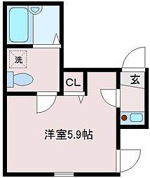 ラ・トゥール[2階]の間取り