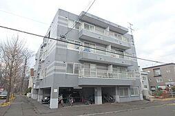 北海道札幌市東区北四十条東10丁目の賃貸マンションの外観