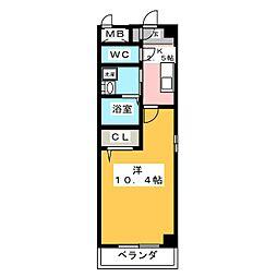 マ メゾン アイ[4階]の間取り