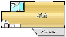 ドルメン大山[3階]の間取り