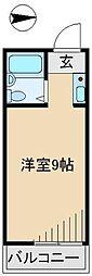 エスペランサ11[3階]の間取り