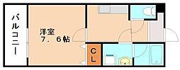 有井アパート[2階]の間取り
