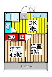 コ−ポイトウ[1階]の間取り