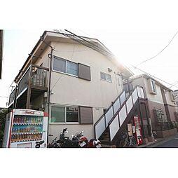 東京都世田谷区経堂3丁目の賃貸アパートの外観