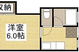 プレール高柳1[2階]の間取り
