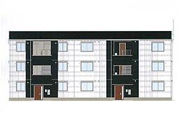 福岡県北九州市八幡西区藤田2丁目の賃貸アパートの外観