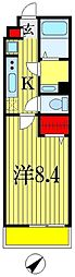 LivLi・アクティー船橋[2階]の間取り