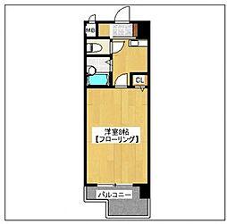スワレーレ室見[206号室]の間取り