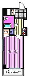 コスモスパジオ浦和常盤[4階]の間取り