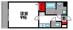 ラティーナ松香台II[3階]の間取り