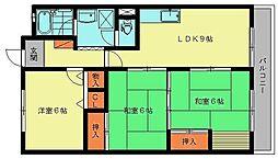 ユアーズマンション21[109号室]の間取り