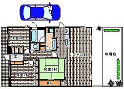 兵庫県神戸市西区井吹台北町2丁目の賃貸マンションの間取り