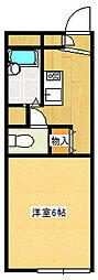 サクセスヒルズ[102号室]の間取り
