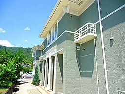 広島県広島市安佐北区亀山4丁目の賃貸アパートの外観