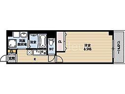 DAP太子橋[8階]の間取り