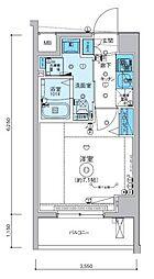 リヴシティ横濱インサイト[704号室]の間取り