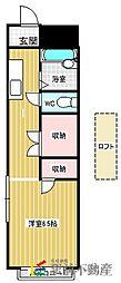 シティコーポ[3階]の間取り