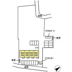 (仮称)D-room松江市学園南2丁目[101号室]の外観