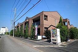 栃木県鹿沼市貝島町の賃貸アパートの外観