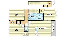 リュミエールm&y A棟[A203号室]の間取り