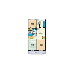 MIZUHOマンション[2階]の間取り