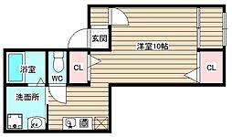 坂口ビル[3階]の間取り