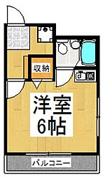 ユウダイハウス[2階]の間取り