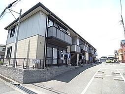 兵庫県姫路市大津区恵美酒町2丁目の賃貸アパートの外観