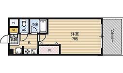 エスリード新大阪第8[6階]の間取り