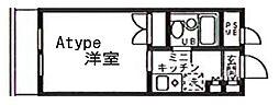 est porte[309号室]の間取り