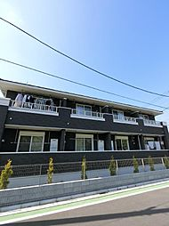 埼玉県川越市並木新町の賃貸アパートの外観