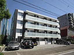 北海道札幌市東区北十三条東10丁目の賃貸マンションの外観