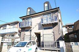 埼玉県越谷市赤山本町の賃貸アパートの外観