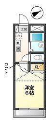 フォルジュロン 12b[2階]の間取り