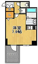 大阪府大阪市大正区三軒家東1丁目の賃貸マンションの間取り