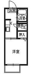 サテライトハウスA[1階]の間取り