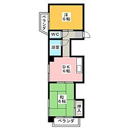 ダイコーマンション[4階]の間取り