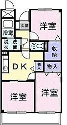 昭和エクセランマンション[0303号室]の間取り