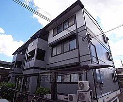 京都府京都市左京区田中春菜町の賃貸アパートの外観