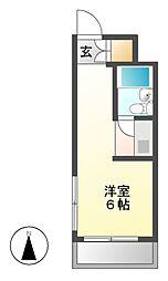 HILL HOUSE[2階]の間取り