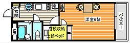 米米[2階]の間取り