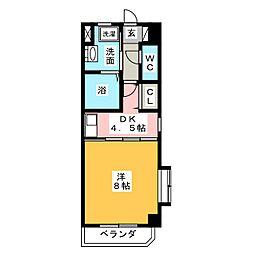 Lani Kai Park[4階]の間取り